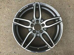 """1 x Mercedes Benz A B CLA W176 W246 C117 18"""" AMG DT GREY GENUINE OEM Alloy Wheel"""
