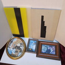 James/Jimi Suzuki Art~3 Framed Collage & Autographed Book~BEST TIME~GREAT DEAL!!