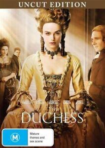 The Duchess (Uncut) DVD - Keira Knightley PERIOD DRAMA MOVIE -Region 4 Australia