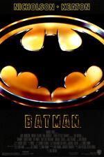 Batman 1989 Michael Keaton Jack Nicolson 35mm Film Cell strip very Rare var_e