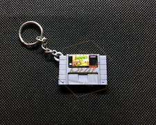Zombies Ate My Neighbors 3D CARTRIDGE KEYCHAIN super nintendo snes collectible