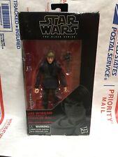 Star Wars Luke Skywalker (Jedi Knight) Black Series 6 inch Action Figure USED