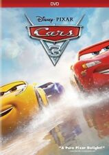 Cars 3 (DVD 2017) Disney Factory Sealed NEW Family Animation Free shipping