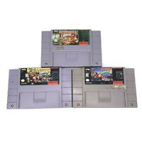 Donkey Kong Country 1, 2, 3 (1-3) (Super Nintendo / SNES) Authentic - TESTED!!!