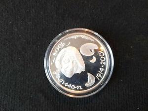 10 Euro Finlande Tove Jansson Argent (.925°/oo) Qualité : Proff Diamètre 38,6mm
