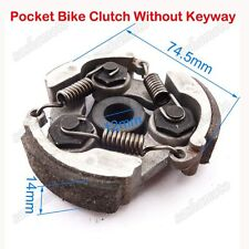 Clutch No Keyway For Chinese 47 49cc Pocket Dirt Crosser Bike Mini Moto Quad ATV