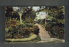1906 Newport England to Tientsin China RPPC Postcard Cover Beechwood park