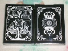 1 deck Black Crown Playing Cards Limited Edition by The Blue Crown-S102908-D3