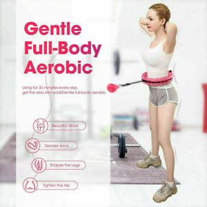 24 Knots Weighted Hula Hoop Adult Smart Hula Thin Waist Fitness , Weight Loss