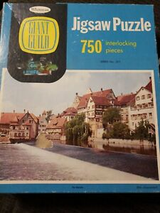 """Vintage Whitman Giant Guild Jigsaw Puzzle """"the Danube """" 750 Pieces no. 4650:79"""
