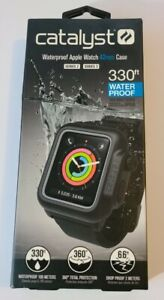 Catalyst Water Proof Case for Apple Watch 42mm Series 2 & 3 - Stealth Black