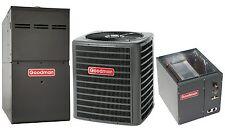 Goodman 80% 80,000 btu Gas furnace and 3 Ton 13 SEER AC Split System