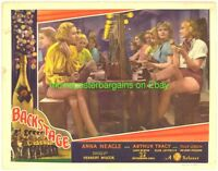 BACKSTAGE 1937 LOBBY CARD 11x14 Inch  size MOVIE POSTER  COLORFUL SHOWGIRLS