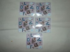 5-Disney Frozen Make Your Own Olaf  Stickers Party Favors