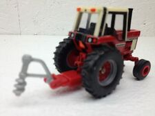 1/64 ERTL FARM COUNTRY RED POSTHOLE DIGGER