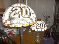 The Memory Company #20 Tony Stewart Tiffany Style Floor & Table Lamps