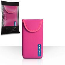 Caseflex Accesorios Para El Apple Iphone 5c Rosa Caliente Neopreno Bolsa Funda