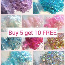 CHUNKY Festival Glitter 5g bag, Face Eye Body Hair Tattoo Cosmetic Glitter Party