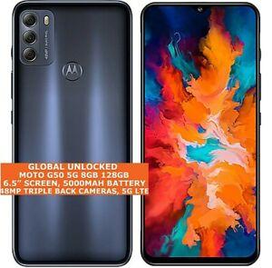 "MOTOROLA MOTO G50 5G 8gb 128gb Octa Core 6.5"" Fingerprint Id Android 11 LTE NFC"