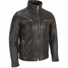 New Soft Real Lambskin Leather Black Bomber Jacket Casual varsity 172