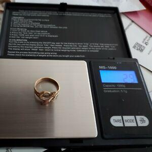 Goldring Schlange 2,9 Gramm 333er Gold