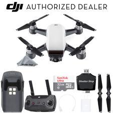 DJI Spark Quadcopter - Alpine White + Remote, 32GB Memory, Ultimate Starter Kit