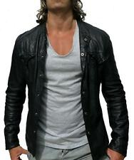 *SOLD OUT* Spitalfields ALL SAINTS DEMON LEATHER SHIRT jacket L RRP £295 $510