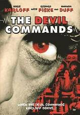 Devil Commands New DVD (1941 Boris Karloff)