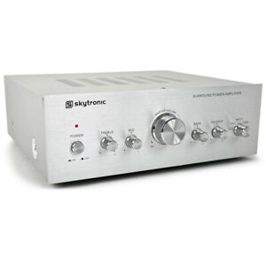 Skytronic 103.311 Home Hifi Stereo Amplifier 100W