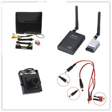 FPV combo system 5.8G 200mw Transmitter and receiver 1024*600 monitor Camera