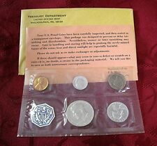 1964 US MINT PHILADELPHIA SILVER PROOF FIVE (5) COIN SET JFK UNCIRCULATED SEALED