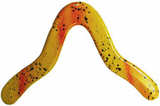 "Yellow ""Mantis"" Boomerang - Genuine handmade wooden returning easy throw, catch"