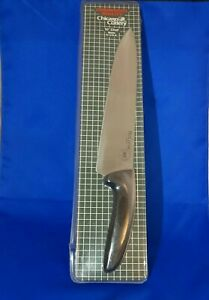 """Vintage Chicago Cutlery BR44E 10"""" Chef Knife BioCurve Commercial Quality USA"""