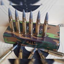 Deko Patrone 12 Stück für Kaliber Win .308 7,62x51 NATO, Munition, Geschosse