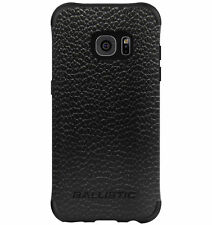 Samsung Galaxy S7 EDGE -Black/Buffalo Leather Ballistic Urbanite Select Case