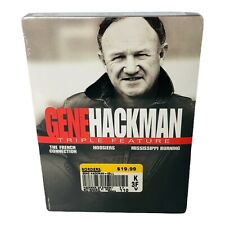 Gene Hackman Triple Feature DVD 3-Disc Set French Connection Hoosiers Missis New