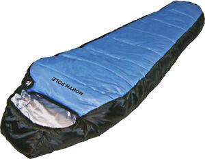 EXPLORER Schlafsack North Pole 2000mm Biwak Winterschlafsack Zelt XXL Comfort