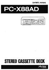 Bedienungsanleitung-Operating Instructions für Toshiba PC-X88 AD