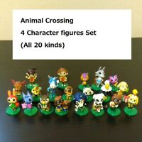 Animal Crossing series game chocolate egg 4 figure set japan Isabelle Tom Nook