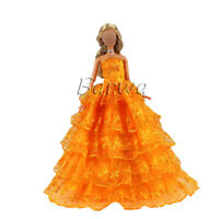 Barwa Barbie Bright Orange Bandeau Skirt Best gift for your baby