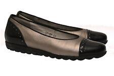 ♥ WALDLÄUFER~Luxus Damen Schuhe~Gr.7H /ca.40~echt Leder Ballerinas Slipper~TOP ♥