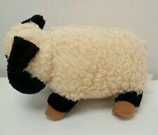"Black Sheep Lamb 11"" Vintage Stuffed Animal Plush Toy"