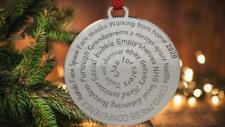 Lockdown 2020 Christmas Bauble - Tree Decoration - Fun Xmas Gift/Present