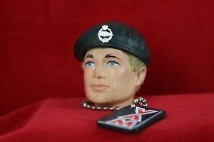 Vintage action Man Vintage Restored Basic soldier black beret