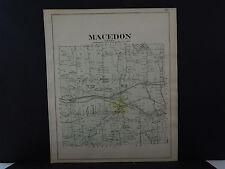 New York, Wayne County Map, 1904 Township of Macedon Q3#20
