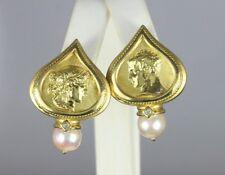 seidengang SG Atenas 18ct Oro Amarillo 9mm Cultivada Perla