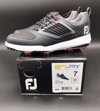 FootJoy Fury Golf Shoes Mens Size 7 Medium 51103 Black Red Grey White