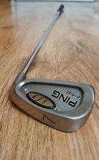 "Ping i3 O size 7 iron +1/2"" silver dot"