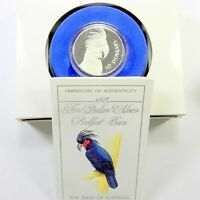 1993 BIRDS OF AUSTRALIA PIEDFORT PALM COCKATOO Silver Proof Coin
