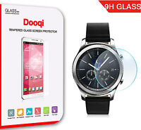 2X Dooqi Tempered Glass Screen Protector for Samsung Galaxy Gear S3 Classic